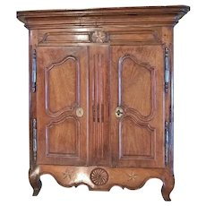 18th C. French Miniature/ Child's Armoire, Provencal