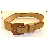 Elephant Skin Tipped Edge Belt