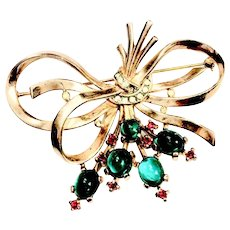 Trifari Berry Brooch