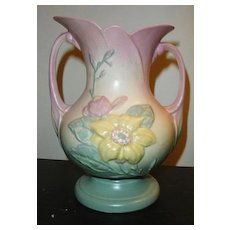 Wonderful Pastel Colored Hull Pottery Vase