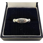 "BY JOVE!  XF Ancient Roman Unisex Sterling Ring, Inscribed ""IOVC,"" c.150 AD!"