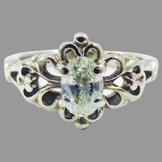 SO ELEGANT .52 Carat Diamond Solitaire/14k Engagement Ring w/GIA Valuation of $3,000.00, c.1925!