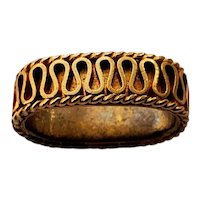 Antique 18K Gold Bail for Pendant