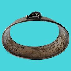 Rare Danish Evald Nielsen 830S Silver Napkin Ring