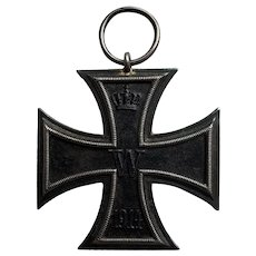 WW I German Iron Cross 1813 1914