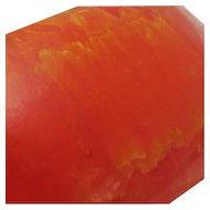 Wide Vintage Tangerine Marble Bakelite Bangle Bracelet