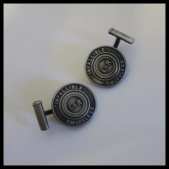 Vintage Whitehead And Hoag Advertising Cuff Links Remington L&R