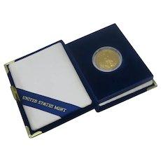 1994 US American Gold $25 Dollar 1/2 oz Liberty Bullion Coin 22 Karat Original Case