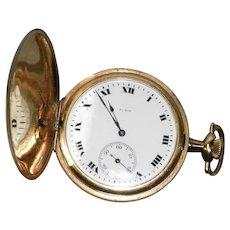 Vintage 1919 Elgin Pocket Watch 12 Size 15 Jewels Keystone Case