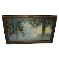 "Maxfield Parrish Framed Print ""Daybreak"""