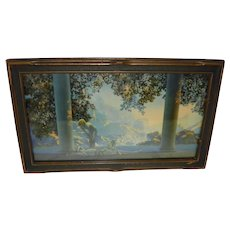 "Maxfield Parrish Framed Print ""Daybreak"""
