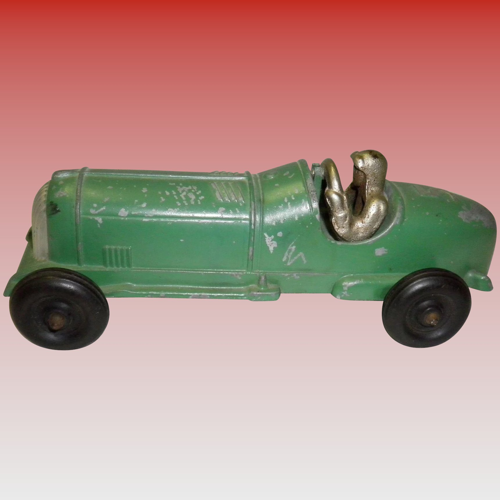 Hubley Die-Cast Race Car #5 : Cameo Antique Mall