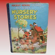 Mickey Mouse Presents Walt Disney's Nursery Stories 1937