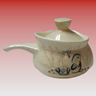 Red Wing Bob White Quail Covered Gravy Boat
