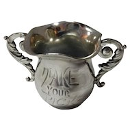 """Take Your Pick"" Quadruple Plate Toothpick Holder By Homan Silver Plate Co."