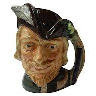 Royal Doulton Robin Hood Toby Jug #6527