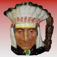 Royal Doulton North American Indian Toby Jug #6611