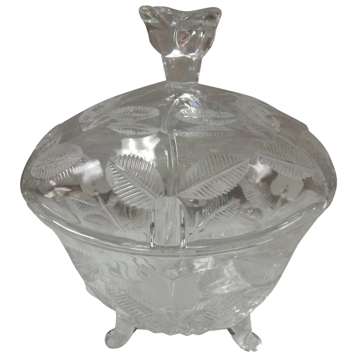 Fifth Avenue Crystal Candy Dish With