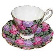 Royal Standard Chintz Cup & Saucer