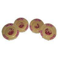 Set Of 4 Spode Copeland China Tatman Chicago Plates