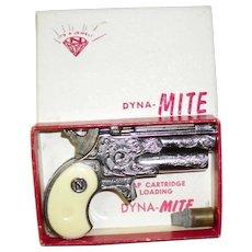 Vintage 1950's Nichols Dyna-Mite Toy Cap Gun in Original Box