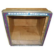 Advertising Felber Pennant Quality Sunshine Biscuit Display Play Box
