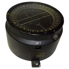 WWII U.S. Navy Aircraft Navigation Compass Pioneer
