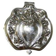1907 Victor Silver Company Silver Quadruple Plate Jewelry Casket Box