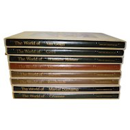 Set of 8 Time Life Library of Art Books