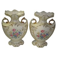 Set OF 2 Vintage Mantle Vases By Paul's Gifts
