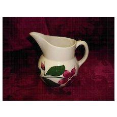 Watt Pottery #15 Star Flower Small  Pitcher