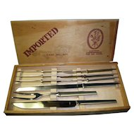 Austrian Swordmaker Knife Set Case No. 307