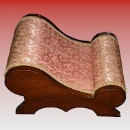 Victorian Curved Footstool