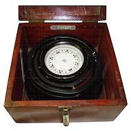 Vintage E.S. Ritchie Nautical Ship Compass
