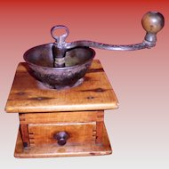 Small Primitive Coffee Grinder