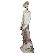 "Lladro Figurine ""Don Quixote Standing Up"" #4854"