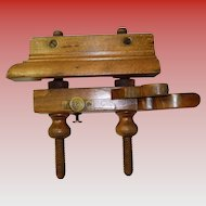 Antique Auburn Tool Co. Screw Arm Plow / Plough Plane #90