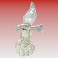 Glass Seagull Flower Frog