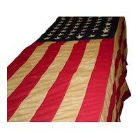 U.S Government 48 Star American Flag Bull Dog 4' X 6'