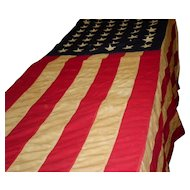 U.S Government 48 Star American Flag Bull Dog 4' X 6'