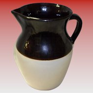 USA 2-Tone Stoneware Pitcher