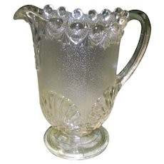 EAPG Westmoreland Shell and Jewel Pitcher