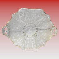 Cambridge Chantilly Handled Cake Plate