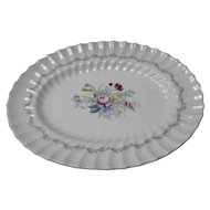 "Royal Doulton Serving Platter in the ""Chelsea Rose"" Pattern"