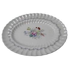 "Royal Doulton Serving Platter in the ""Chelsea Rose"" Pattern"