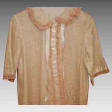 Vintage Odette Barsa Robe Size L