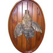 Vintage Brass Duck Wall Hanging / Plaque by Valenti