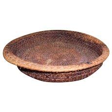 Native American Navajo Coil Basket