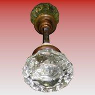 Victorian Glass Door Knob Set
