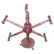 Primitive Spinning Wheel Yarn Winder / Skein Winder